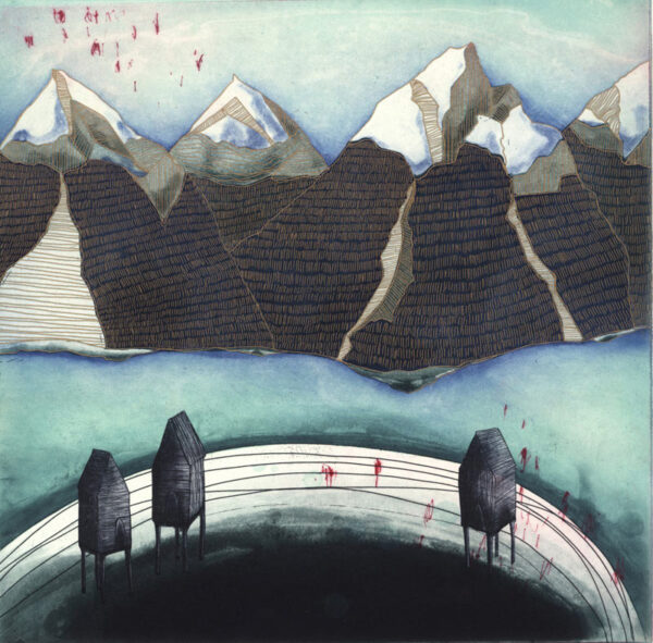 Niamh Flanagan - Winter at the lake