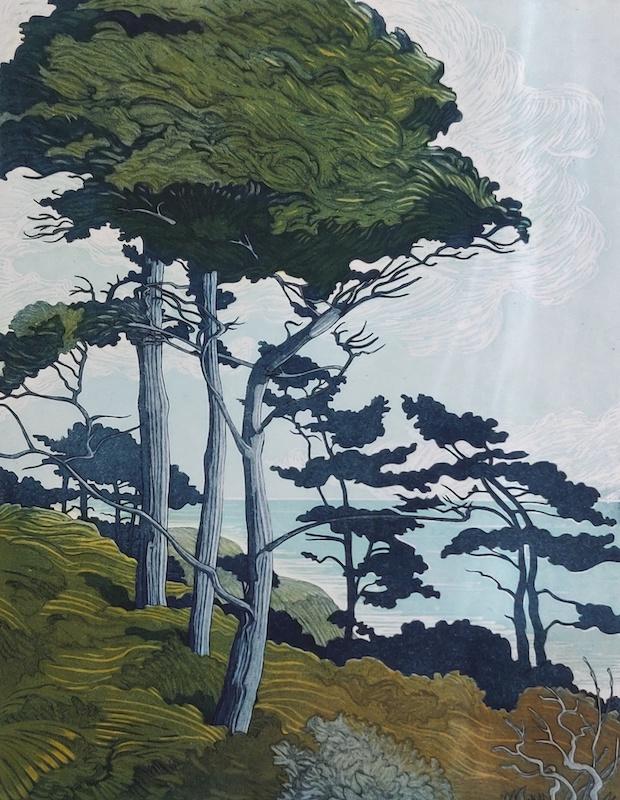 Wind Through Trees