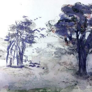 Jonathan Hunter - Lilac Landscape