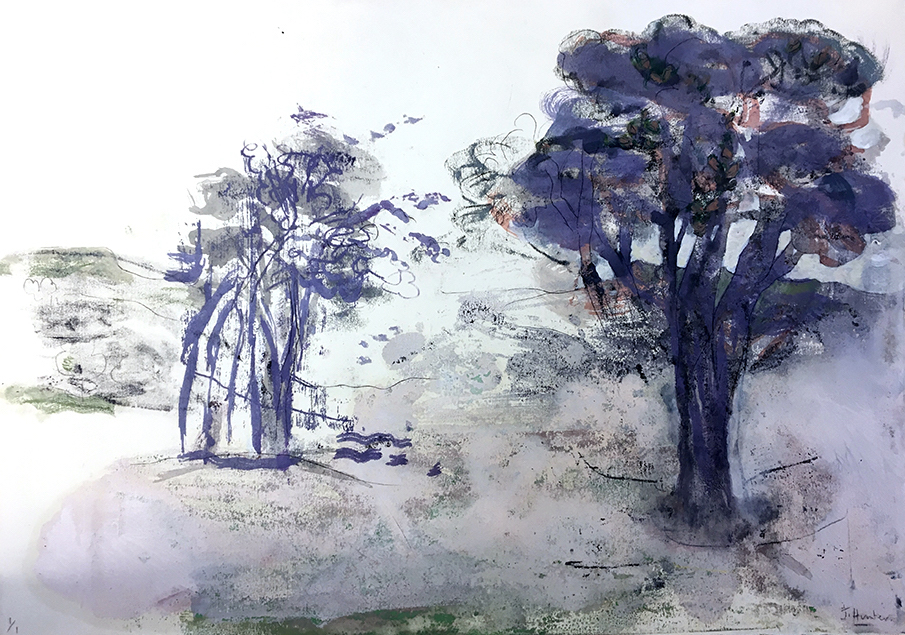 Lilac Landscape [SOLD]