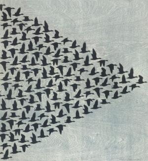 Kelvin Mann - Skein - East, Flock