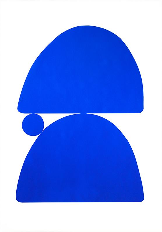 Blue Repose II (Portrait)
