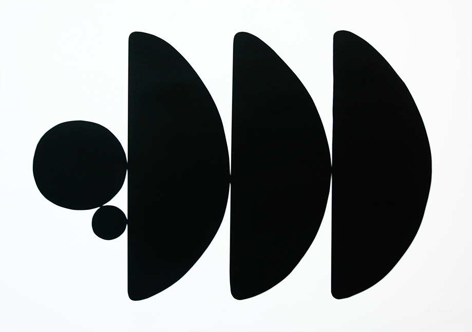Black Resolve I (Landscape)