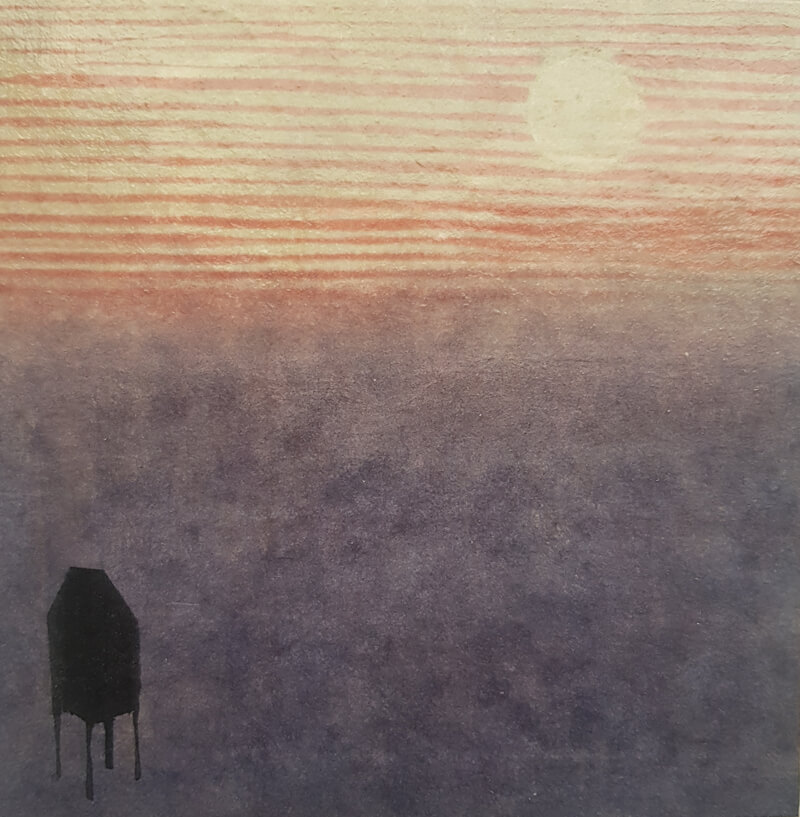 Watching the sunset [sold]