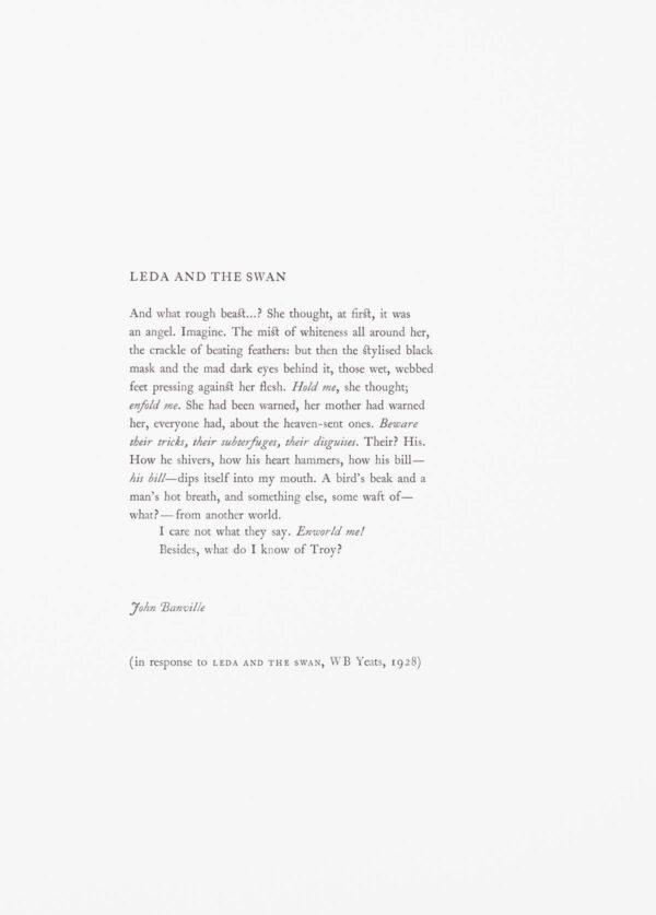 John Banville - Leda and the Swan