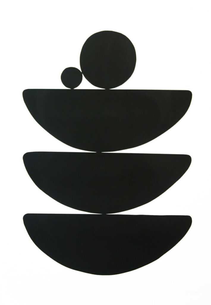 Black Resolve II (Portrait)