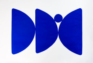 Alice Fitzgerald - Poise II (Blue)