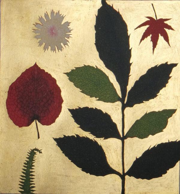 Jean Bardon - Pressed flower and Autumn leaves