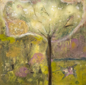 Sarah long - Days unfold under the spell of the hawthorn tree